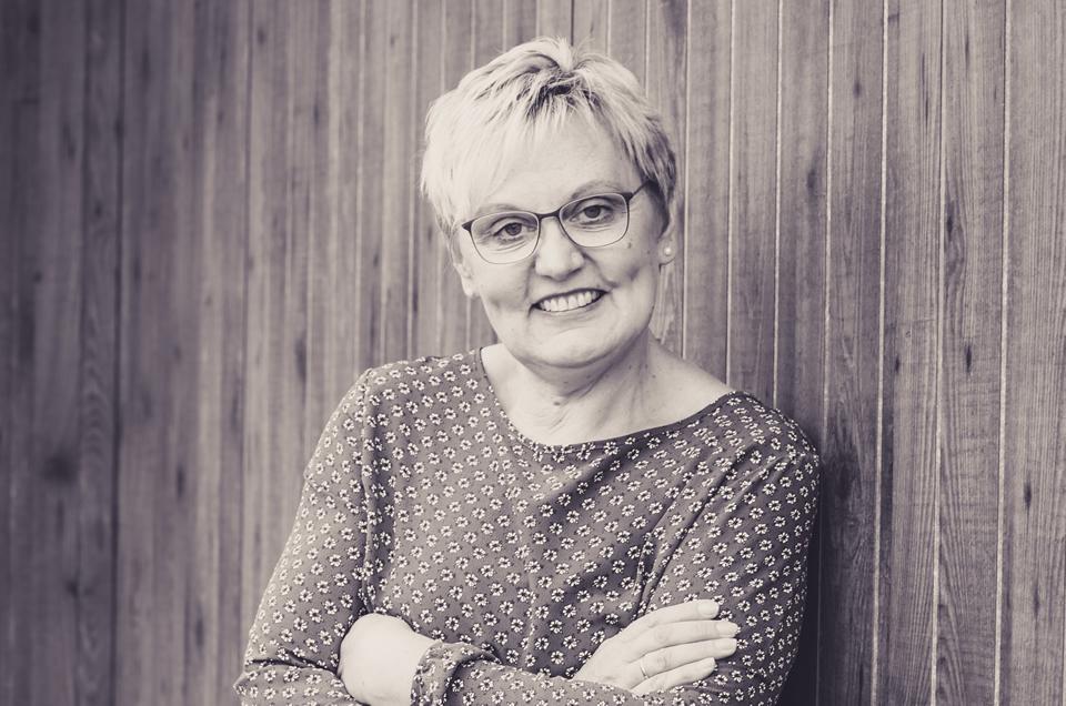 Gastgeberin Gundi Schnabel